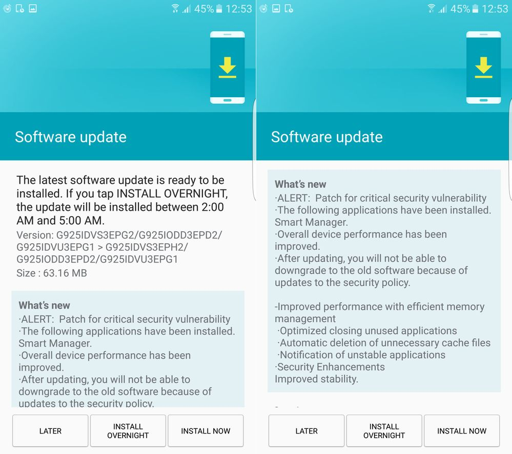 August Security Patch