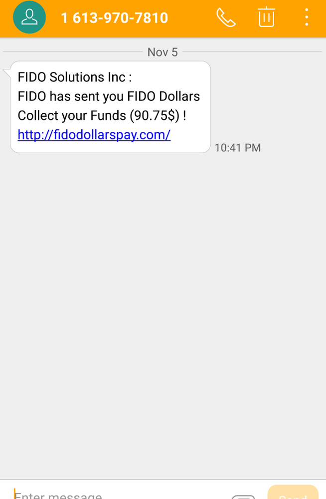 I received this Message. SCAM