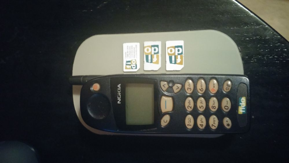 22 years ago Archive Fido's first phone
