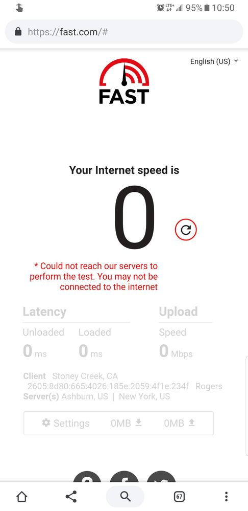 Network just doesn't work