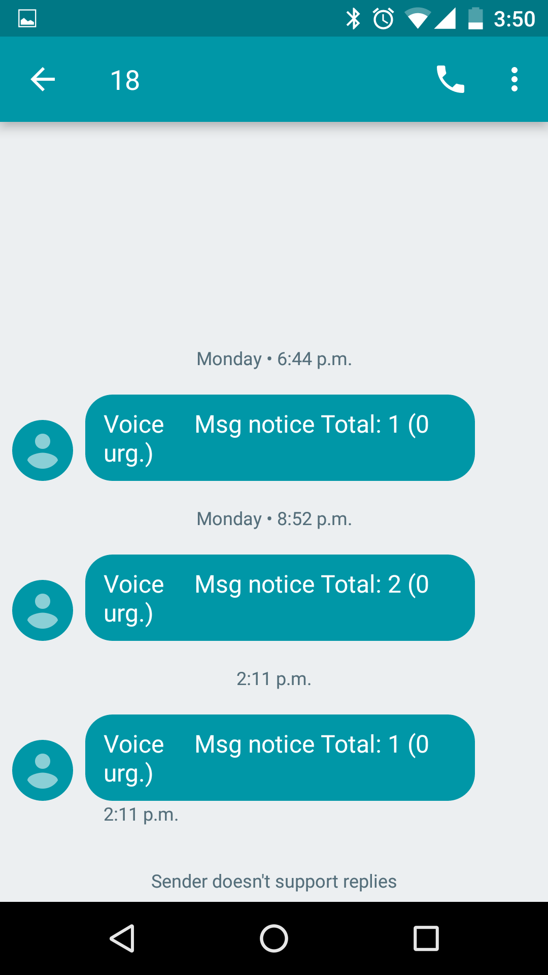 Solved: Voicemail Text Notification - Page 2 - Fido