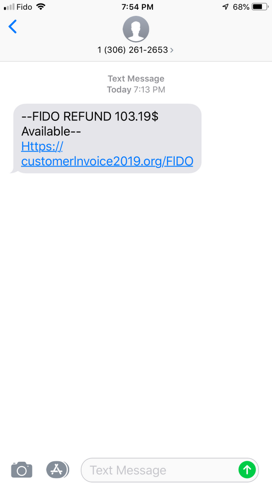 Fideo Text Refund Scam 2.png
